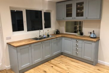 Canford Cliffs New Kitchen