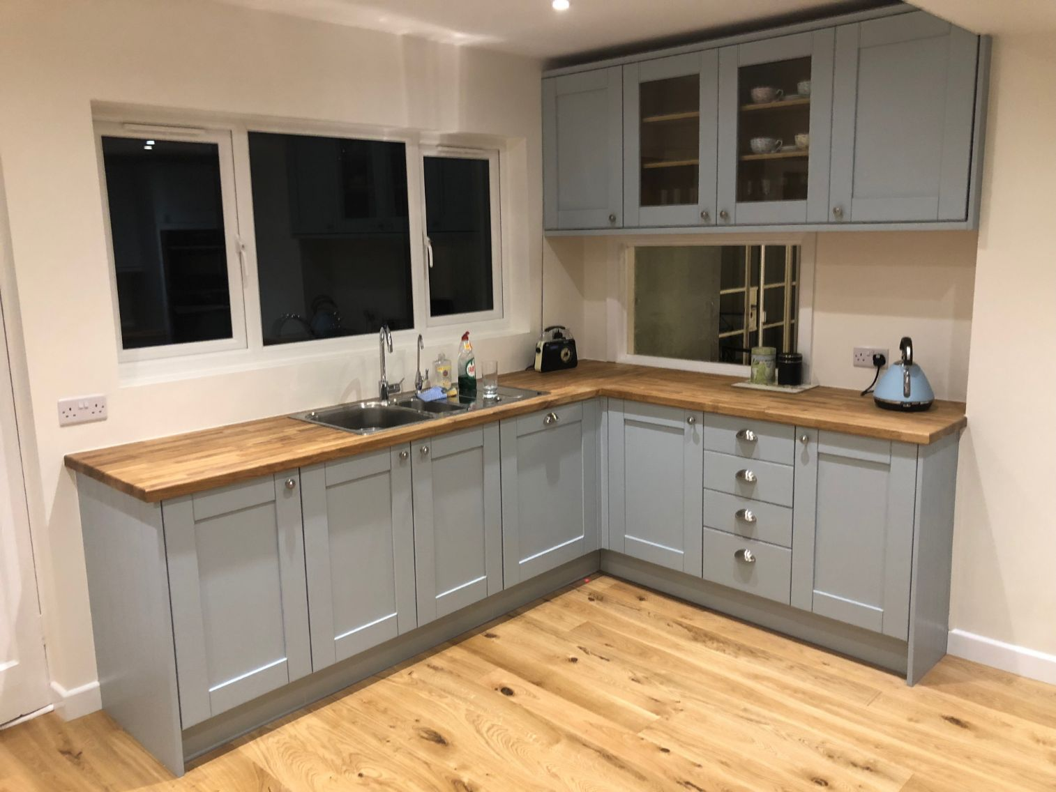 Kitchen Renovation Canford Cliffs house refurbishment