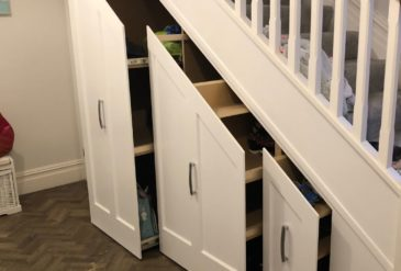 Southbourne Under Stairs Sliding Storage Compartments