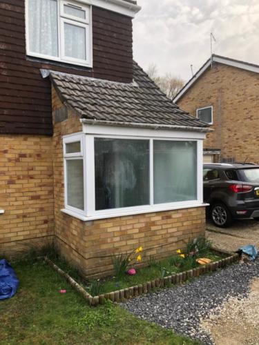 Porch Rebuild in Poole
