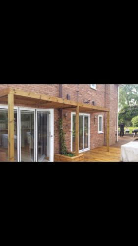 Penn Hill Garden Decking in Poole