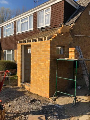 Rebuild a Front Porch in Canford Heath