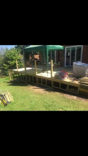 Penn Hill Decking in Dorset