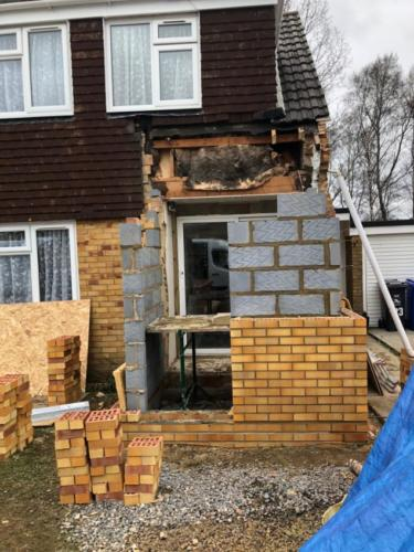 Rebuild a Front Porch in Poole