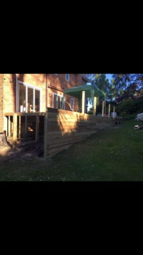 Penn Hill Decking Installation