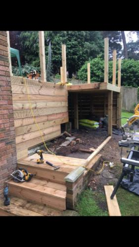 Penn Hill Decking Home Refurbishment