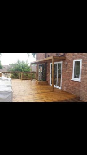Penn Hill Garden Decking near Bournemouth