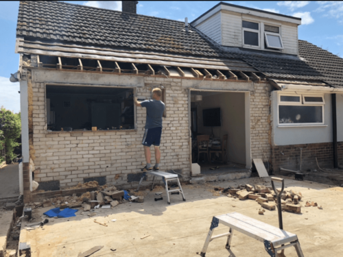 Hamworthy House Extension and Re-Roof